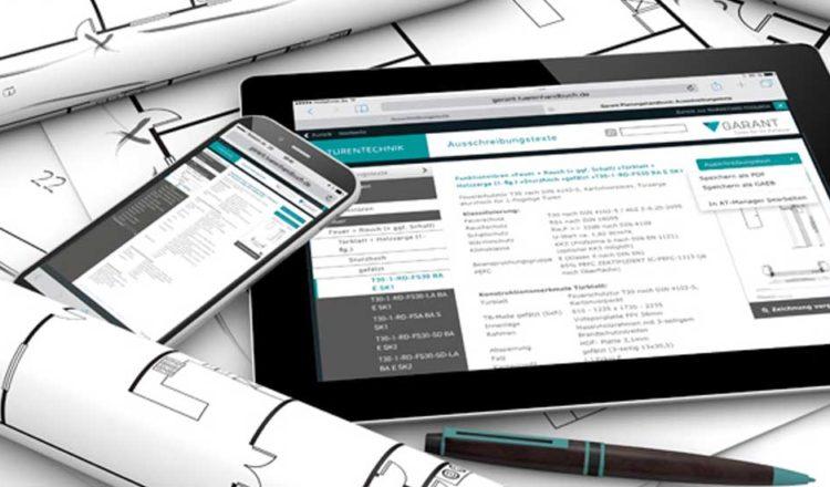 Türen Ausschreibungstexte für Architekten<br> online verfügbar bei GARANT